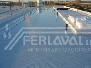 Impermeabilización cubierta
